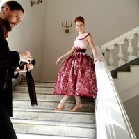 корсетные платье