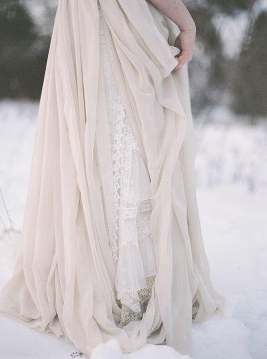 легкое платье невесты в стиле бохо