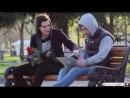 Гей пикап пранк, Gay pick up prank (18 + ненормативная лексика, сцены насилия) ChebuRussiaTV, parniplus