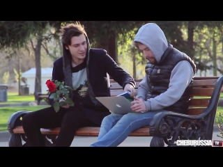 Гей пикап пранк / Gay pick up prank (18 + ненормативная лексика, сцены насилия) ChebuRussiaTV #parniplus