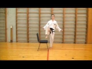 БИЕО методика обучения прямого удара ногой (ап-чаги)