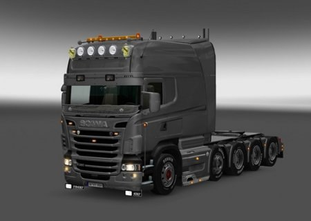 Scania R & Streamline Modification v 1.2 для Euro Truck Simulator 2 - Скриншот 1