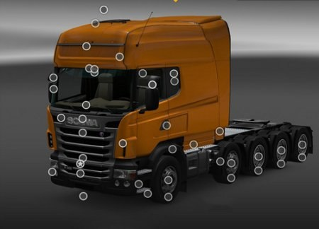 Scania R & Streamline Modification v 1.2 для Euro Truck Simulator 2 - Скриншот 2