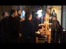 Агни Парфене. Валаамский текст, регент - иеромонах Давид, сентябрь 2014 г.