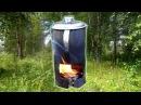 Парафиновая свеча - горелка из помойки