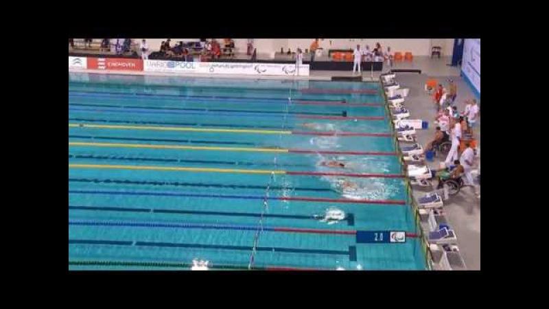 Men's 4x50m freestyle relay 20points | Final | 2014 IPC Swimming European Championships Eindhoven