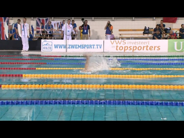Men's 4x50m medley relay 20points | Final | 2014 IPC Swimming European Championships Eindhoven