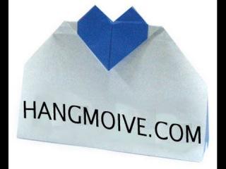 Cách gấp, xếp túi hình trái tim bằng giấy origami - Video hướng dẫn