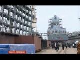В Петербурге спустили на воду фрегат «Адмирал Касатонов»