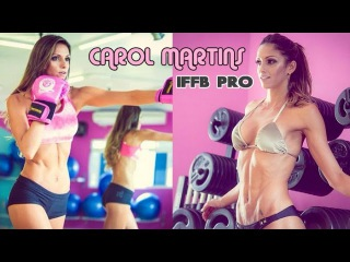 CAROL MARTINS - IFBB Bikini Athlete: Butt and Legs Building Workout in the Gym @ Brazil