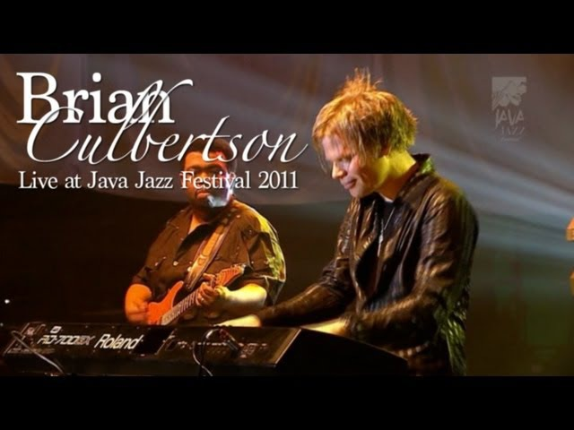 Brian Culbertson On My Mind Live at Java Jazz Festival 2011