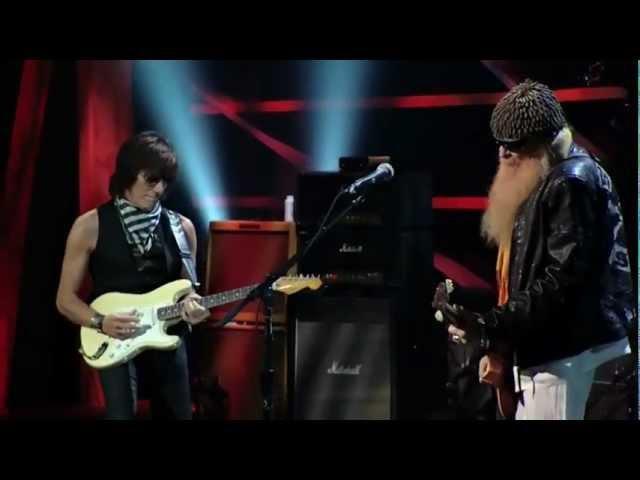 JEFF BECK BAND & BILLY GIBBONS (ZZ Top) - FOXY LADY