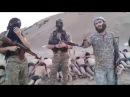 Сирия,чеченские упыри расстреливают солдат, взятых в плен на авиабазе Табка. 18+