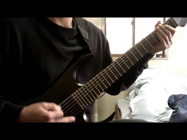 Fallujah Cerebral Hybridization guitar cover