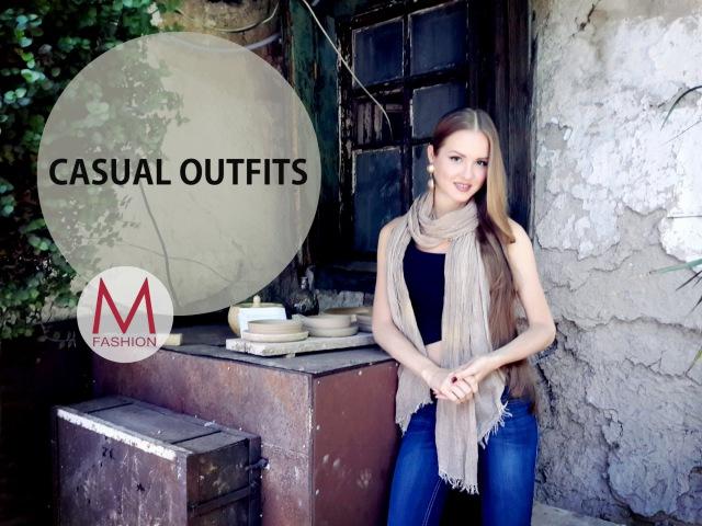 Повседневный (кэжуал) Стиль Casual Looks. Summer Outfits. Маха Одетая