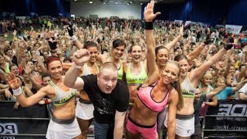 Péntek Enikő ZONA edzés - 2015 Coca-Cola Testébresztő Fitnesznap