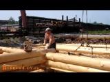 Изготовление сруба