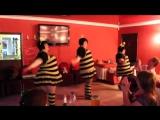 Зажигательный танец трёх пышных пчёлок