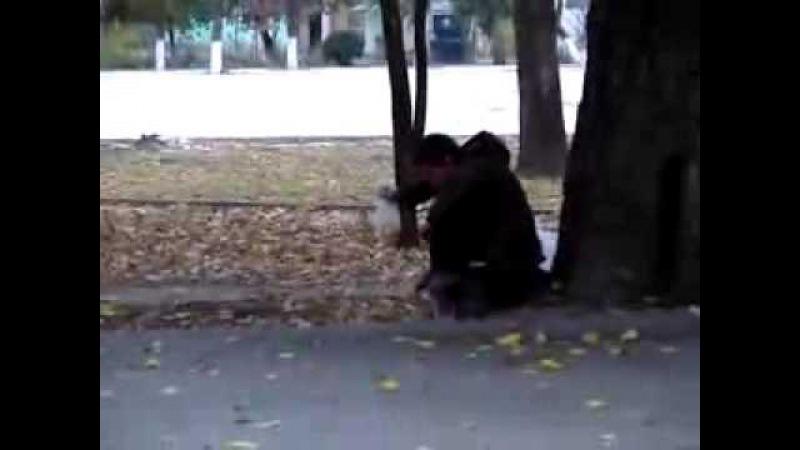 В РФ до сих пор дети нюхают клей