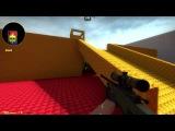 CS:GO(AWP_LEGO)-Два калаша(no zoom) vs Silver Ranks
