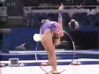 Alina Kabaeva RUS Hoop Goodwill Games 1998 AA