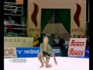 Alina Kabaeva Hoop Final Madrid World Championships 2001