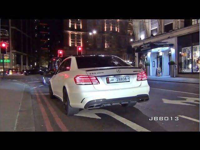 Mercedes E63 AMG - такого выхлопа вы НЕ СЛЫШАЛИ!