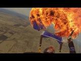 Что будет, если выстрелить в купол парашюта из сигнального пистолета