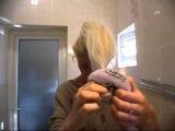 Прическа с накладными прядями