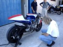Motor bike 6 cylinders incredible sound by Guy Coulon