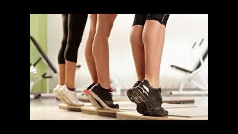Как накачать голень (икры) ДОМА! тренируем икроножные мышцы!