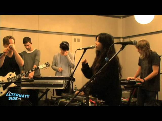 The Naked and Famous - Young Blood (Live at WFUV)