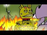 Болезнь Спрингтрапа - 5 Ночей с Фредди [Комикс на русском] | ФНАФ Комикс