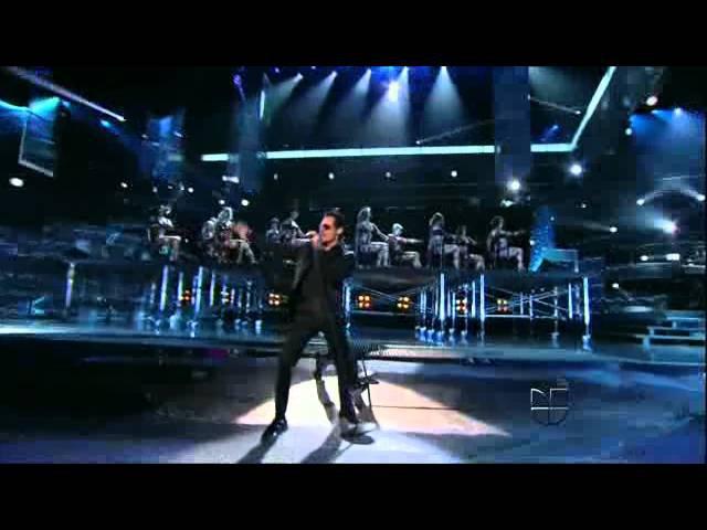 Pitbull ft Marc Anthony - Rain Over Me (Latin Grammys 2011)