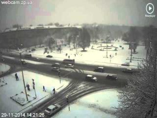 Сегодняшняя погода в Запорожье 29 11 14