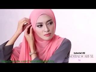Cara Berjilbab wajah Bulat - Hijab pashmina simple Kreasi Shawlbyvsnow Hijab Tutorial - Video Dailymotion