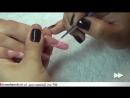 Гелевое арочное моделирование ногтей и дизайн гель красками