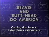 Beavis and Butt-Head Do America (1996) VHS