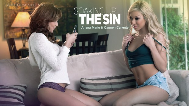 BABES – SOAKING UP THE SIN – Ariana Marie