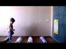 Подвижная игра для детей 2-3 лет. Полоса препятствий.