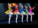 Mmd Magical girls - Miku, Gumi, Luka, Neru, and Teto - Sentai Slender Legs