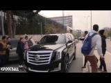 El acelerón de Lionel Messi con su Cadillac que asustó a los fans | FC Barcelona 2015
