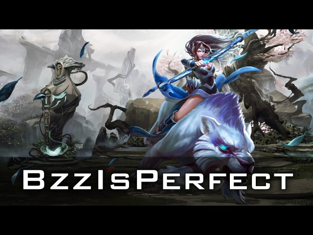 BzzIsPerfect Mirana | Dota 2 gameplay