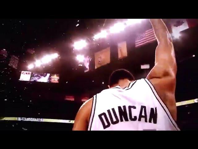 Spurs Tim Duncan Tribute ThankYouTD