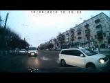 Лучшая подборка ДТП и аварий с видеорегистраторов. Автоприколы и смешные случаи на дороге 2013. №31
