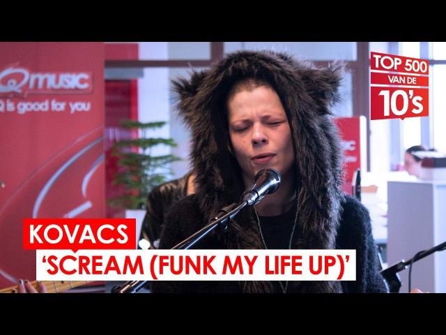 Kovacs - 'Scream (Funk My Life Up)' (live bij Mattie Wietze)