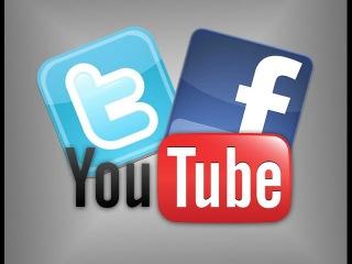Как связать твиттер и фейсбук с каналом на Ютубе