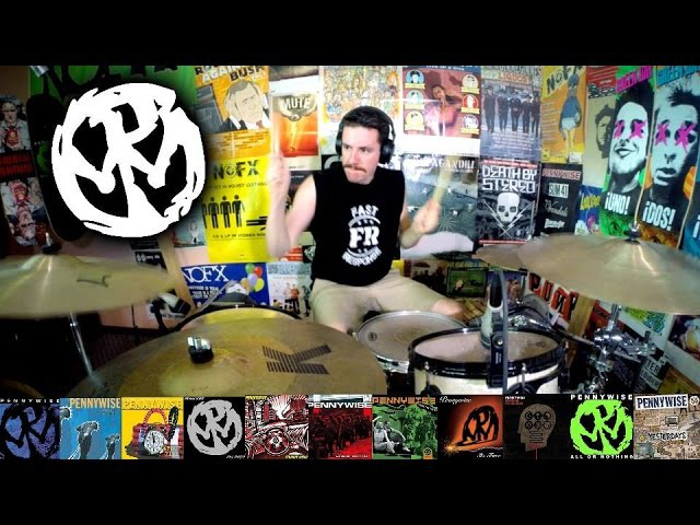 Pennywise: A 5 Minute Drum Chronology - Kye Smith [HD]