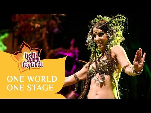 Deb Rubin Tribal Fusion Bellydance Bali Spirit Festival 2015