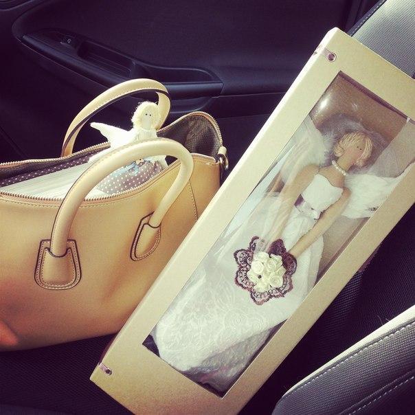 Упаковка для куклы тильда